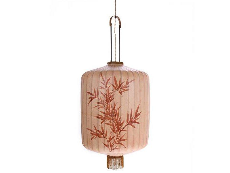 HK-Living Lantern lamp XL skin color 45x45x92cm