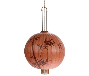 HK-Living Lantern lamp XL terracotta 60x60x92cm