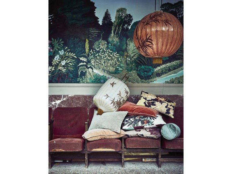 HK-Living Cushion Tokyo print 35x60cm