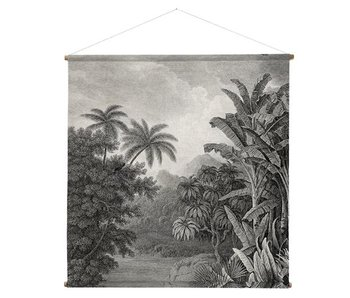 HK-Living 154x154cm gráfico mural de la selva