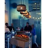 Graypants Ausi8 hanglamp bruin karton Ø19x24cm