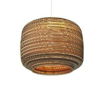 Graypants Ausi12 hängande ljus brun kartong Ø28x20cm
