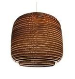 Graypants Ausi14 vedhæng lys brun pap Ø39x36cm