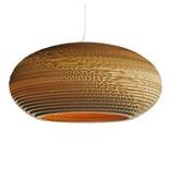 Graypants Disc20 vedhæng lys brun pap Ø50x23cm