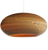 Graypants Disc24 vedhæng lys brun pap Ø61x26cm