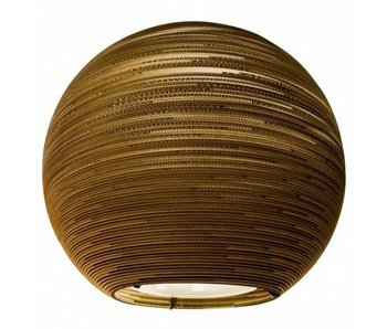 Graypants Arcturus hanging lamp brown cardboard Ø163x163cm
