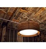 Graypants Drum36 hanglamp bruin karton Ø92x35cm