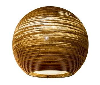 Graypants Sun32 hängande ljus brun kartong Ø81x75cm