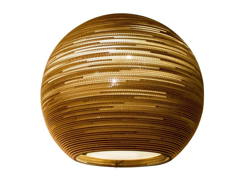 Graypants Sun32 hanglamp bruin karton Ø81x75cm