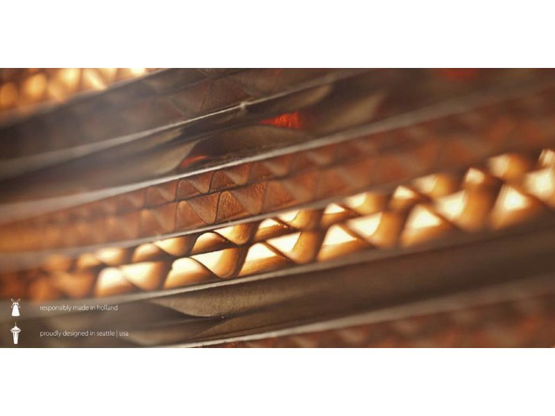 Graypants Drop26 hängande ljus brun kartong Ø36x65cm
