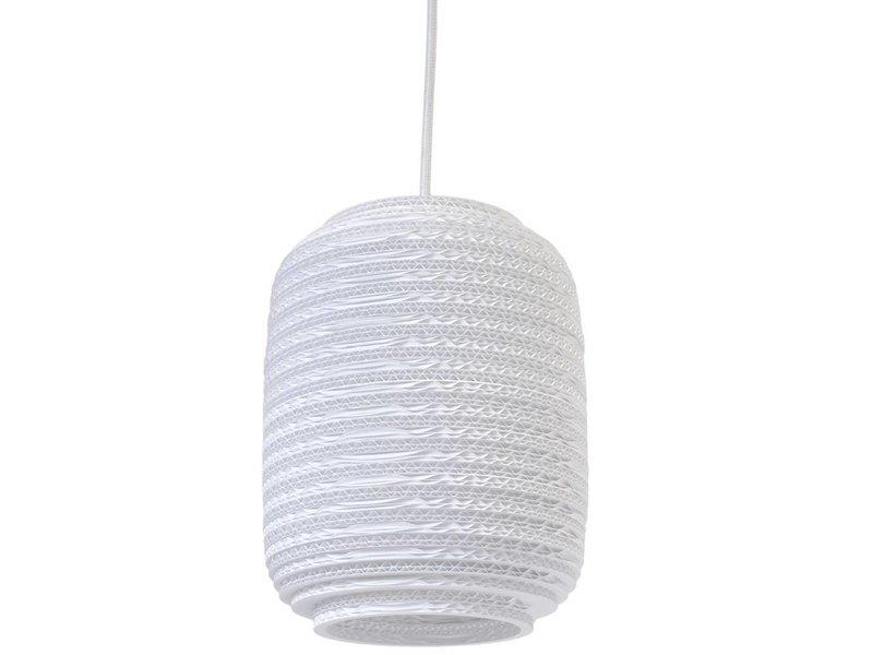 Graypants Ausi8 Lampe weiße Pappe Ø19x24cm