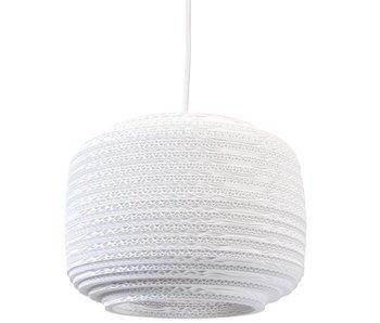Graypants Ausi12 lampe hvidt pap Ø28x20cm
