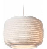 Graypants Ausi12 hanglamp wit karton Ø28x20cm