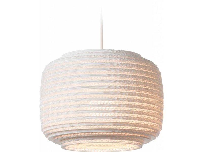 Graypants Ausi12 Lampe weiße Pappe Ø28x20cm