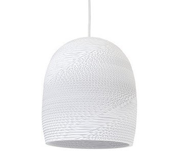 Graypants Bell10 lampa vit kartong Ø27x28cm