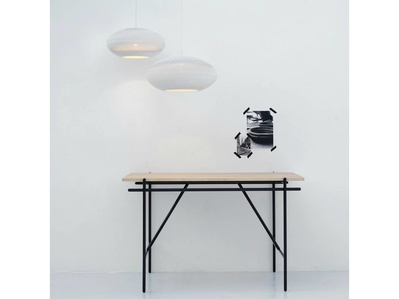 Graypants Disc20 hanglamp wit karton Ø50x23cm