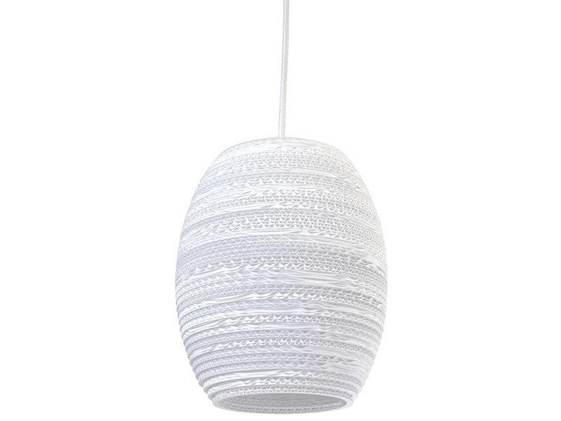 Graypants Oliv lampa vit kartong Ø19x22cm