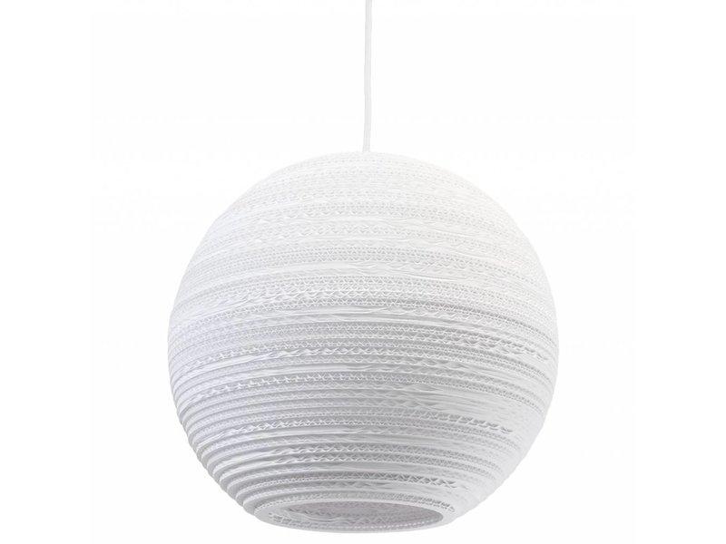 Graypants Moon14 lampe hvidt pap Ø36x31cm
