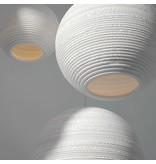 Graypants Moon18 hanglamp wit karton Ø45x40cm