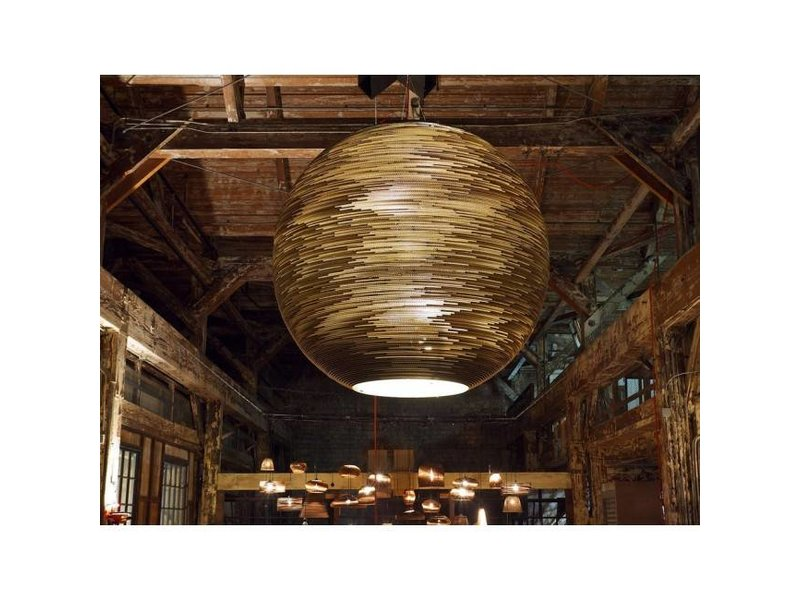 Graypants Arcturus lampe hvidt pap Ø163x163cm