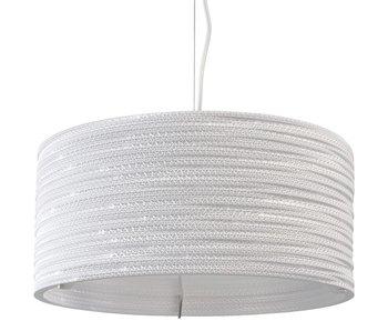 Graypants Drum18 lampa vit kartong Ø45x21cm