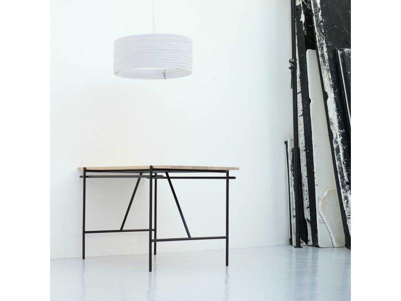 Graypants Drum24 hanglamp wit karton Ø61x24cm