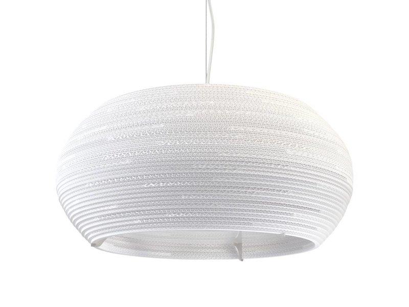 Graypants Ohio24 Lampe weiße Pappe Ø61x24cm