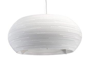 Graypants Ohio32 lampe hvit papp Ø82x33cm