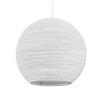 Graypants Sun32 hanging lamp white cardboard Ø81x75cm