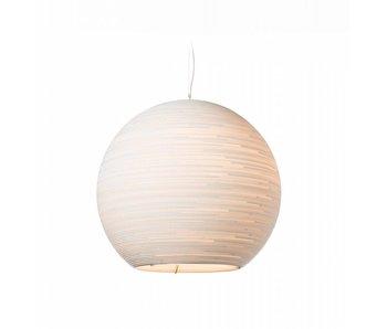Graypants Lampe Sun48 Ø128x108cm en carton blanc