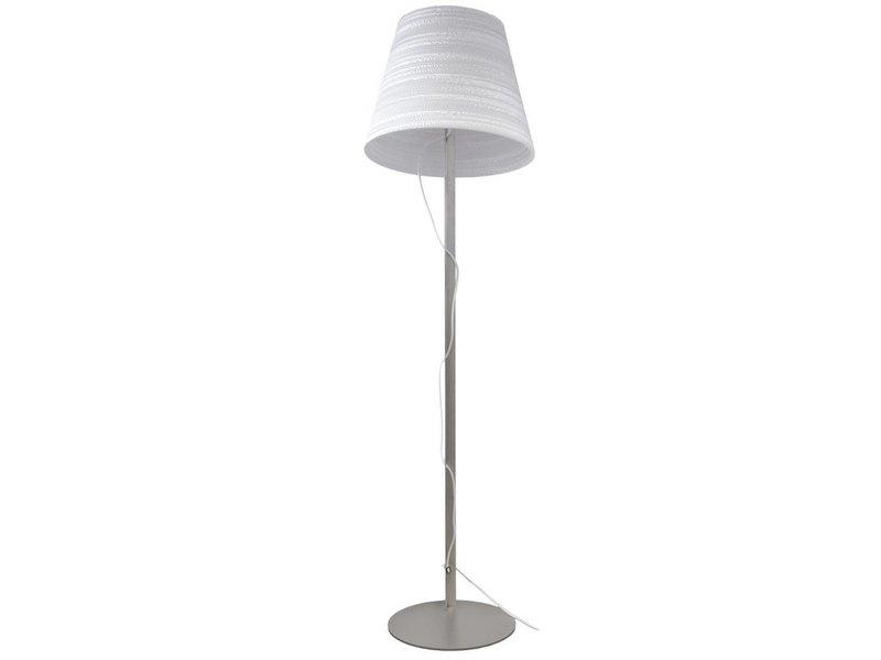 Graypants Tilt vloerlamp wit karton Ø46x35x170cm