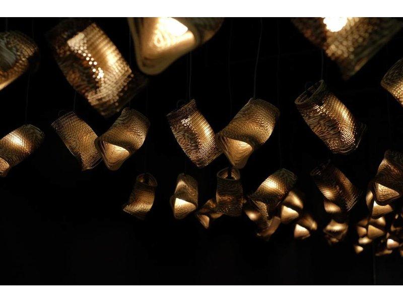 Graypants Moa single hanging lamp brown Ø10x15cm