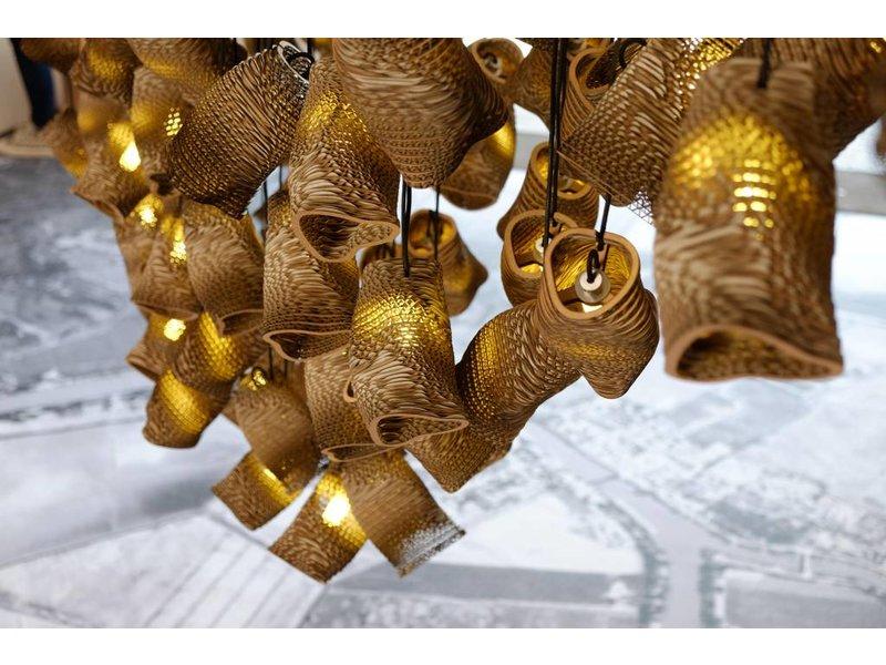 Graypants Moa enda hängande ljus brun Ø10x15cm