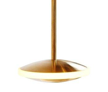 Graypants Dish6h lampa mässing Ø14x18cm