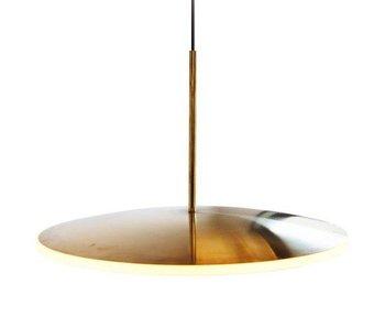 Graypants Dish17h lámpara de bronce Ø42x29cm