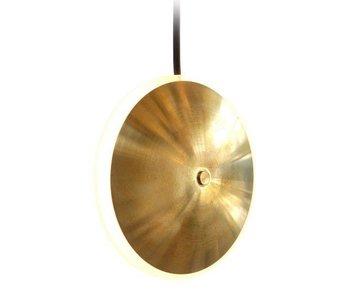 Graypants Dish6v hanglamp messing Ø14x5cm