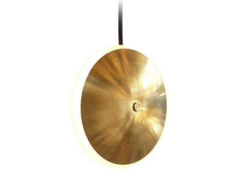 Graypants Dish6v lampe messing Ø14x5cm