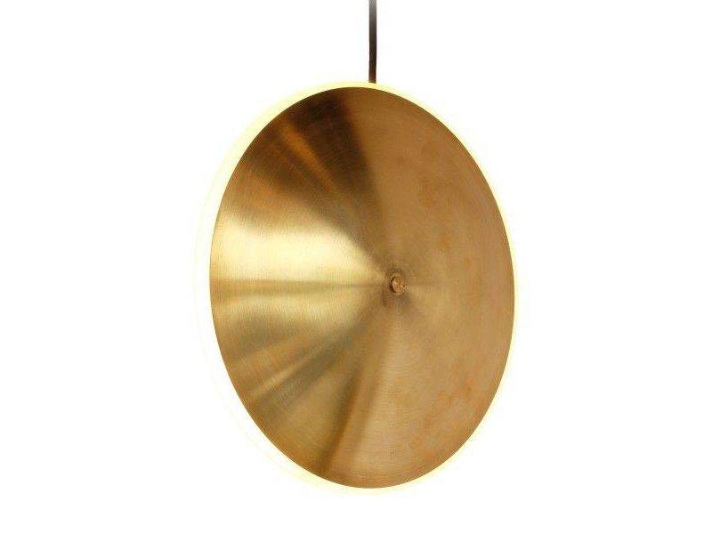 Graypants Dish10v lampa mässing Ø24x6cm