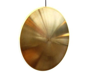 Graypants Dish17v hanging lamp brass Ø42x7cm
