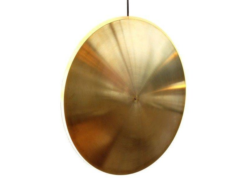Graypants Dish17v hanglamp messing Ø42x7cm