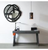 Graypants P2 hanging lamp espresso Ø18x32cm