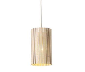 Graypants P2 lampe hvitmaling Ø18x32cm