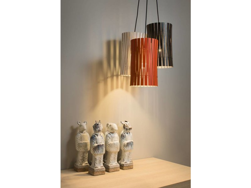 Graypants P2 hanging lamp lava Ø18x32cm