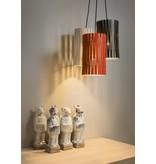 Graypants P2 hanging lamp whitewash Ø18x32cm