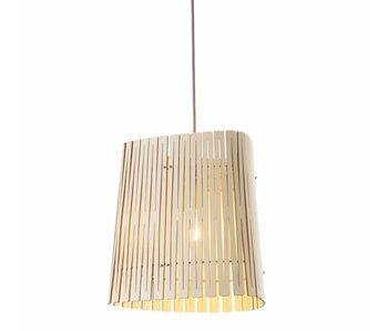 Graypants P3 hanging lamp whitewash Ø29x31cm