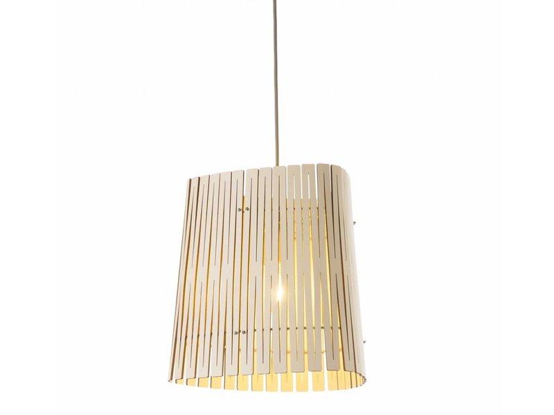 Graypants P3 hanging lamp whitewash Ø29x31cm