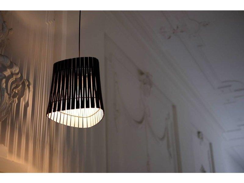 Graypants P3 hanging lamp espresso Ø29x31cm
