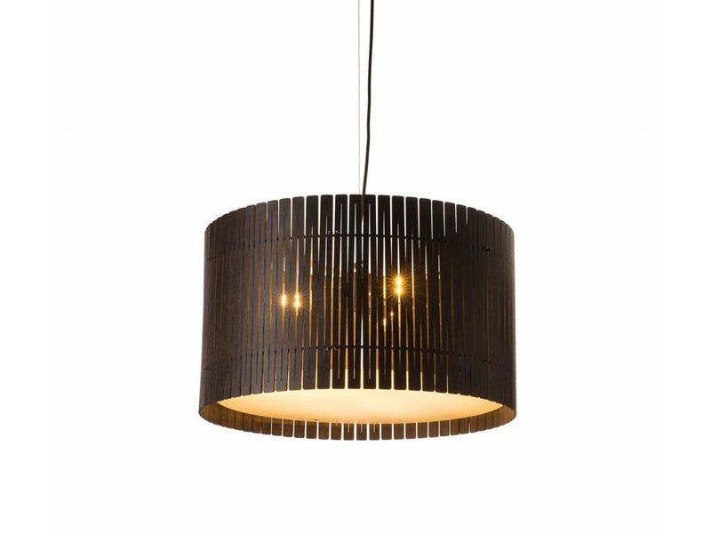 Graypants D6 Drum hanglamp espresso Ø55x32cm