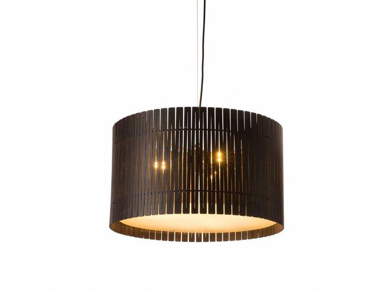 Graypants D6 Drum pendant light espresso Ø55x32cm