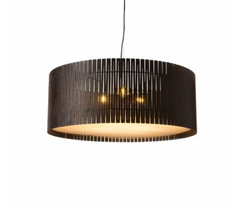 Graypants D9 Drum pendant light espresso Ø83x32cm